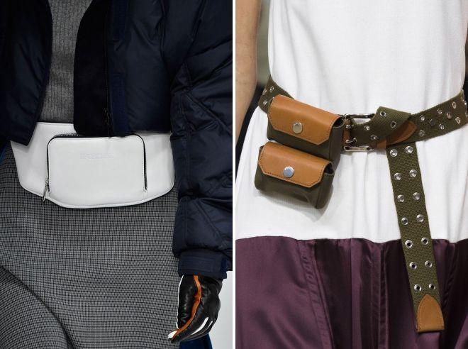 поясные сумки 2019
