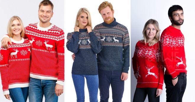 Парные свитера на Новый год