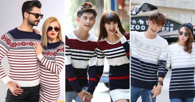 Одинаковые свитера