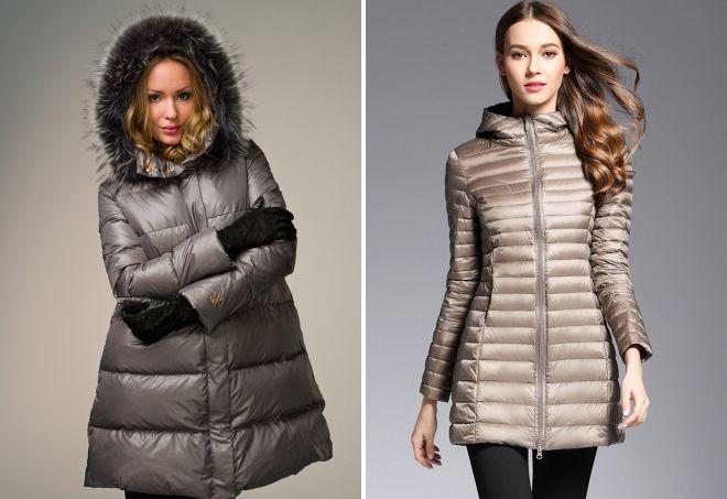 feb0eca6c8d9 Женские зимние куртки 2018-2019 – кожаные, джинсовые, пальто дутые ...