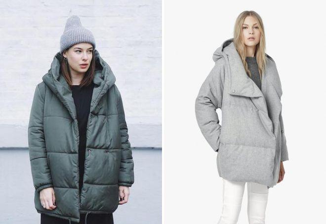 зимние куртки оверсайз 2019