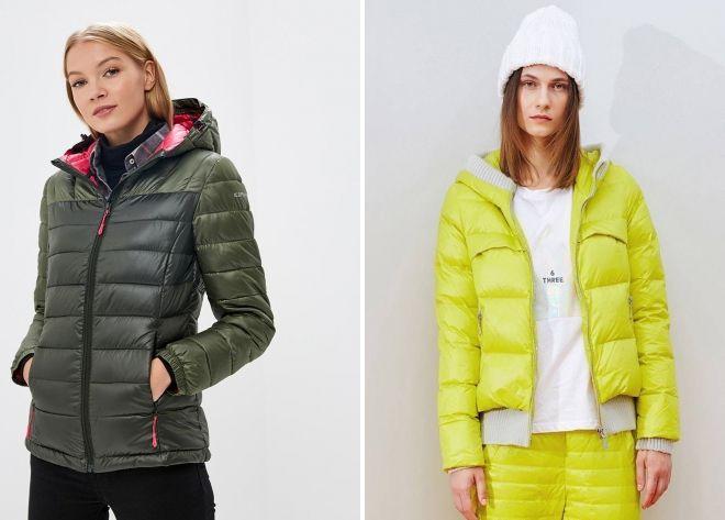 дутые зимние куртки 2019