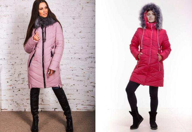 удлиненные зимние куртки 2019