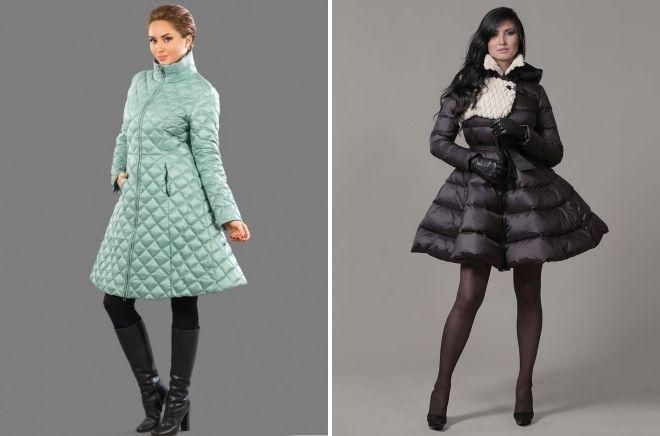 пуховик платье зима 2019