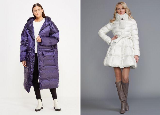 женские зимние пуховики 2018 2019