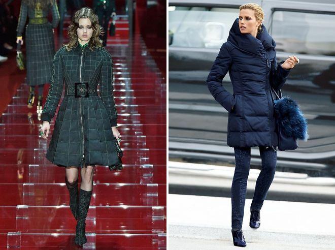 модные модели пуховиков 2018 2019