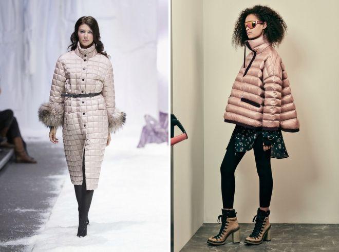 модные пуховики зима 2019