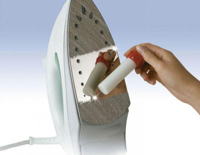 как почистить утюг с керамическим покрытием