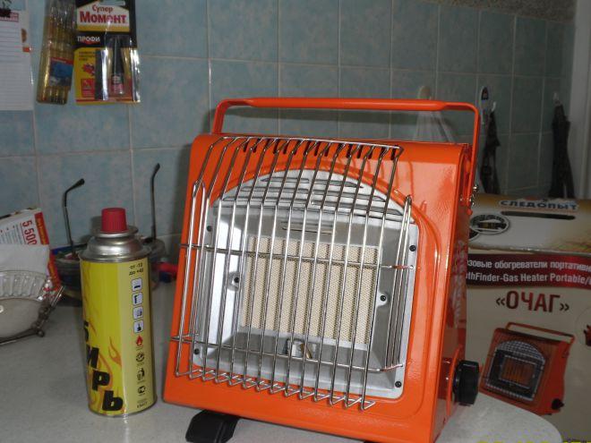 Газовый инфракрасный обогреватель