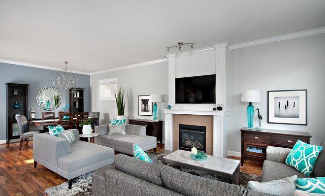 Отделка гостиной, варианты для стен, потолка, пола - современные идеи