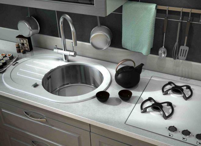 овальная мойка для кухни