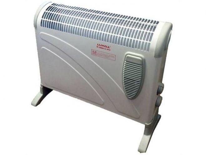 Электрический конвектор с вентилятором
