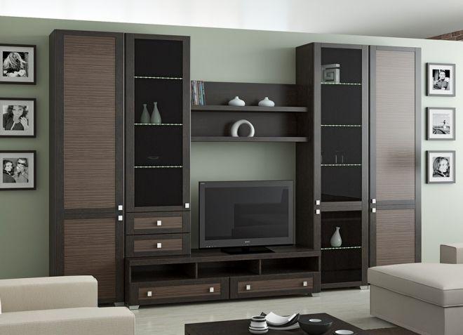 современные модульные гарнитуры для гостиной в в разных стилях