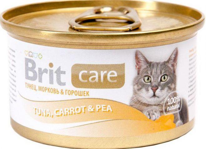 Консервы для кошек брит