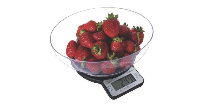 Кухонные электронные весы с чашей