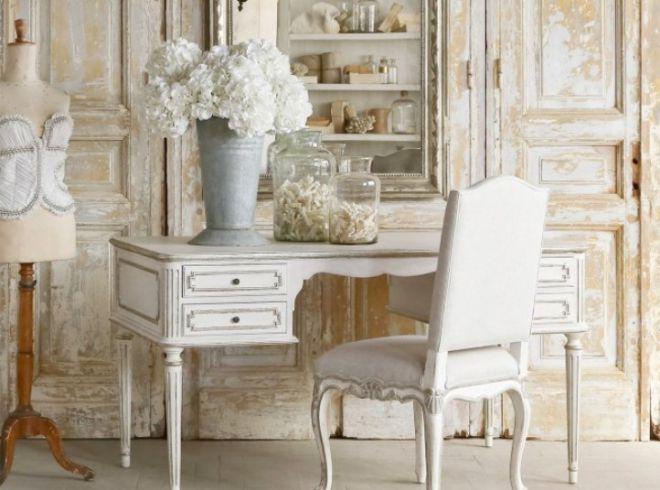 Состаренная мебель в стиле прованс