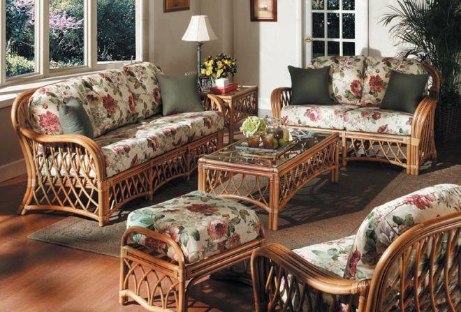 Плетеная мебель прованс
