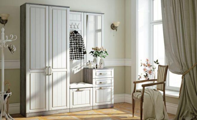 Мебель в прихожую в стиле прованс