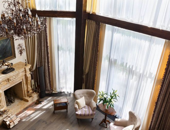 Шторы для зала - идеи, как подобрать красивые и современные ночные шторы