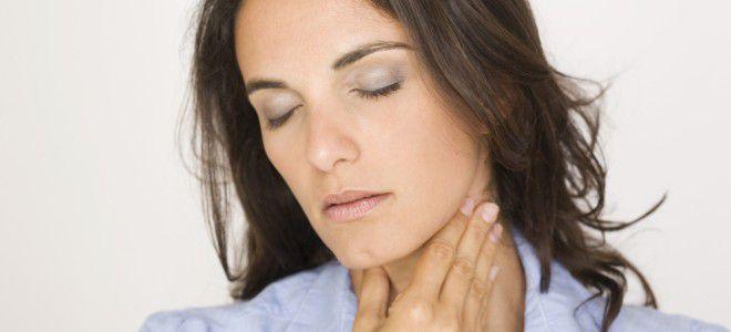 Боль в горле при гастрите