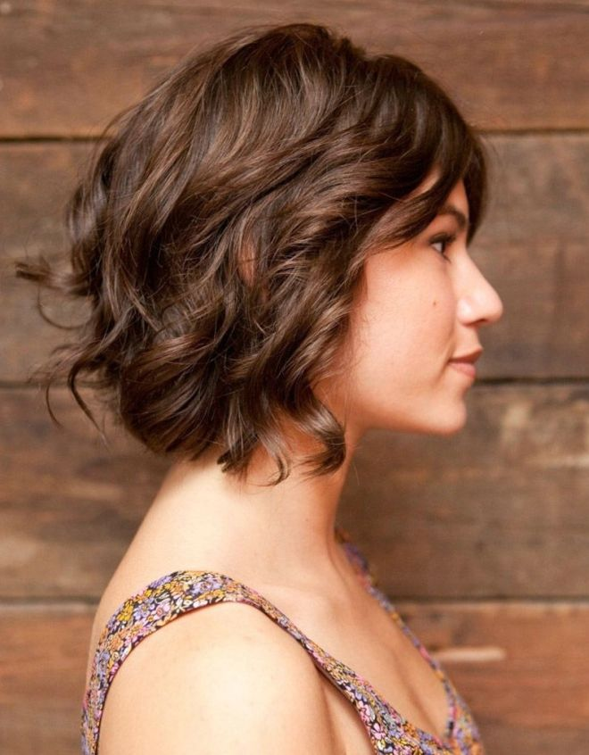 Styling cheveux courts curling six