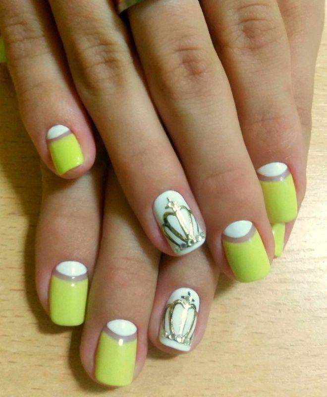 француски маникир за кратки нокти пет