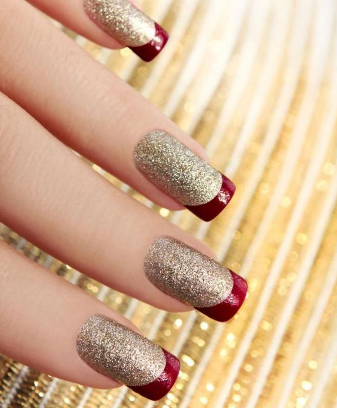 француски маникир на долги нокти пати