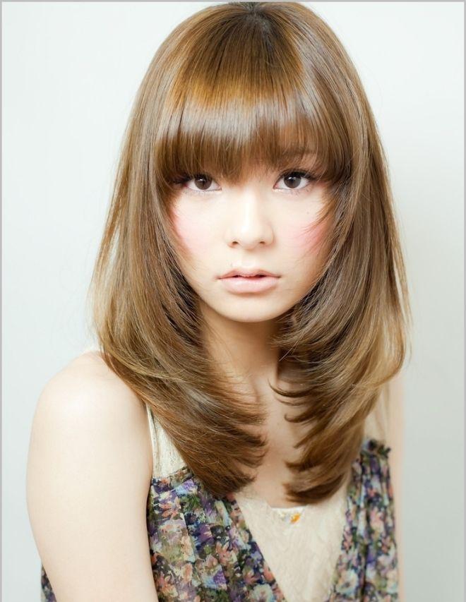 Стрижка лесенка на средние волосы четыре