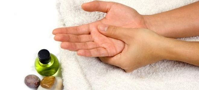 массаж при онемении рук