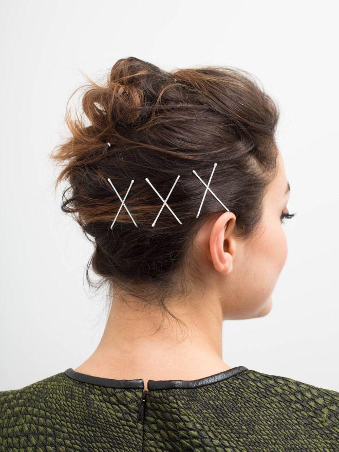 Простые ежедневные прически на средние волосы раз
