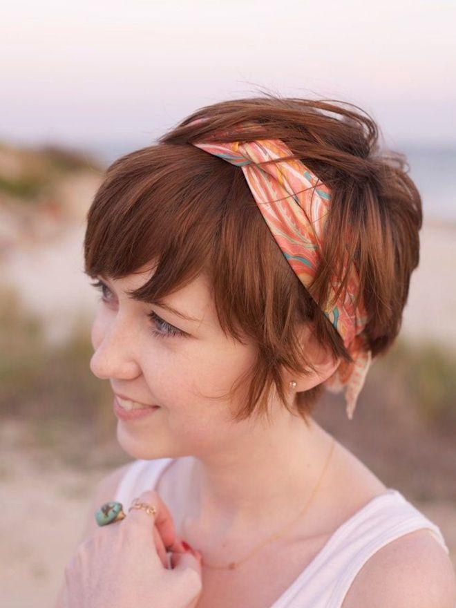 Простые прически на короткие волосы шесть