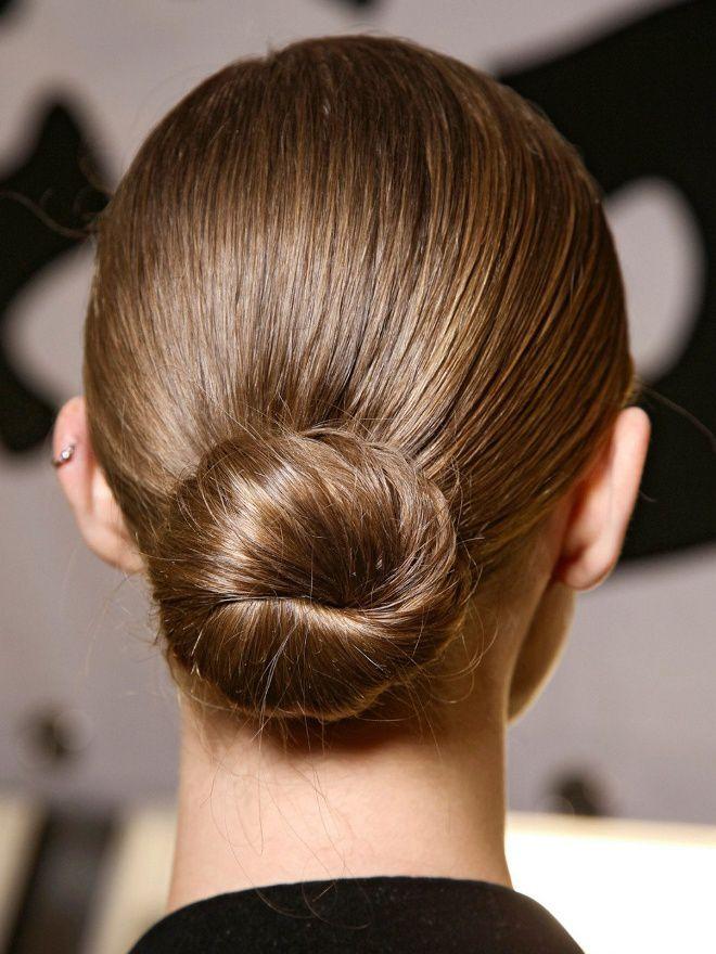 Деловые прически на средние волосы пять