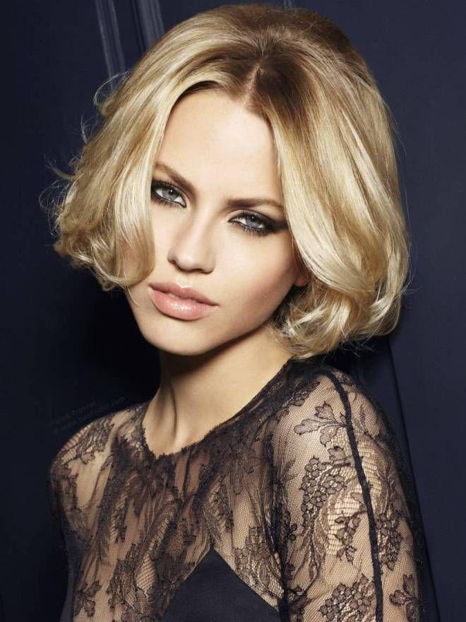 Деловые прически на средние волосы девять