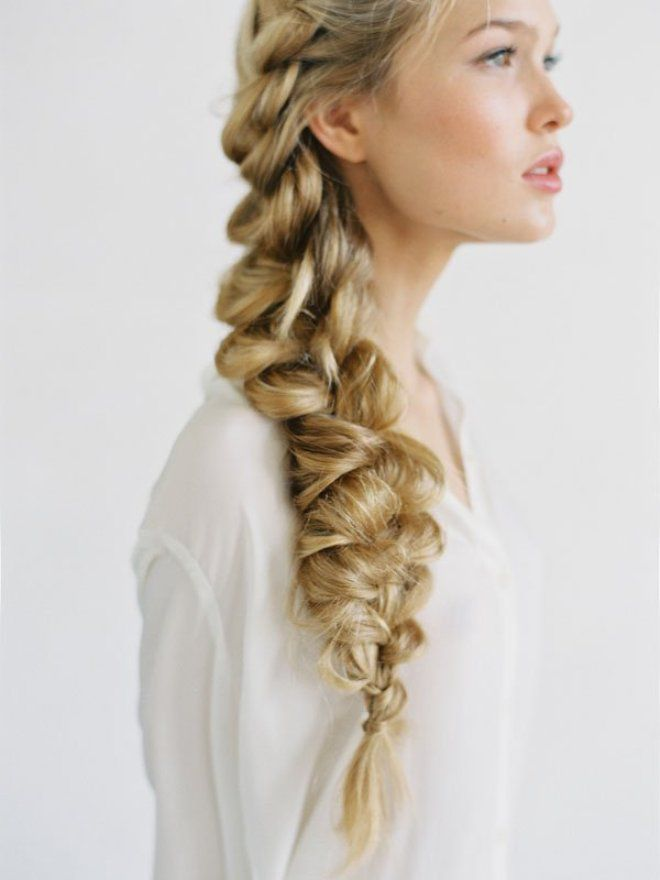 Прически на длинные волосы на каждый день раз