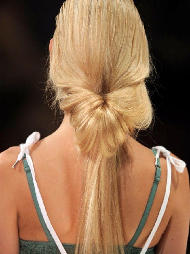 Прически на длинные волосы на каждый день шесть