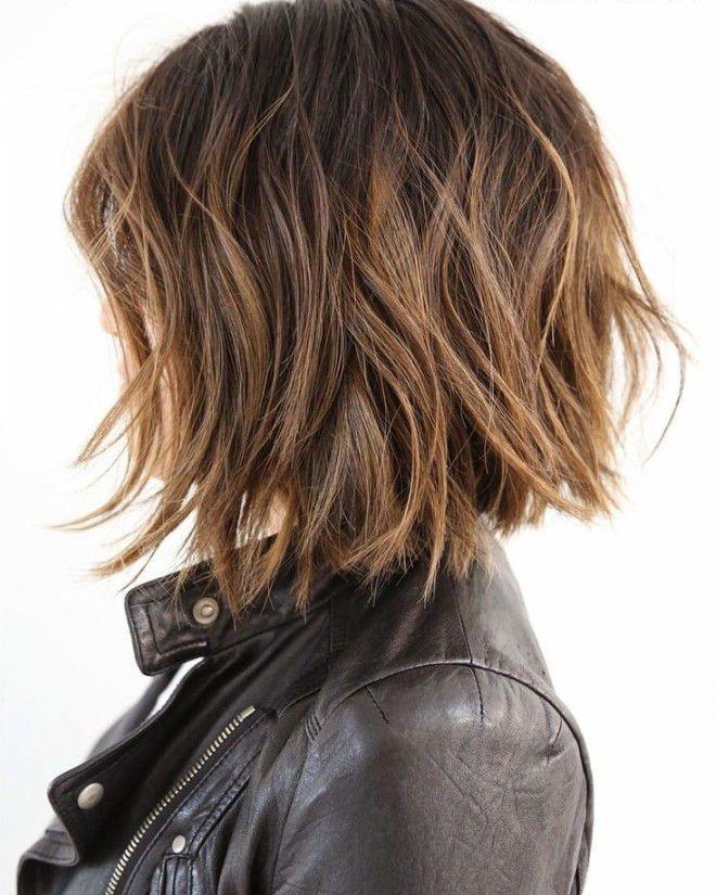 Стрижка боб каре на средние волосы раз
