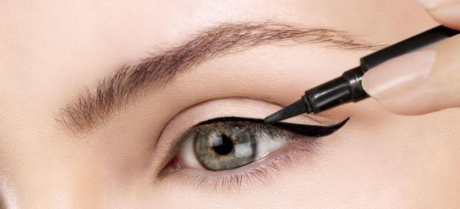 Eyeliner pen for eyes