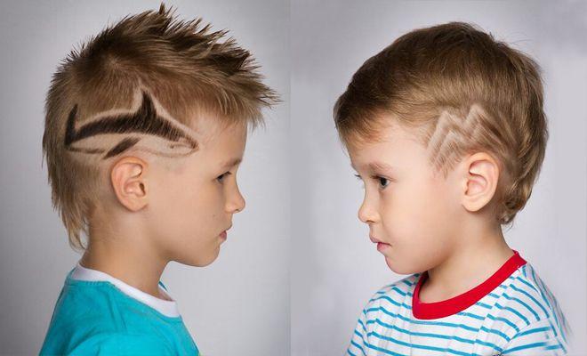 фото детских стрижек для мальчика