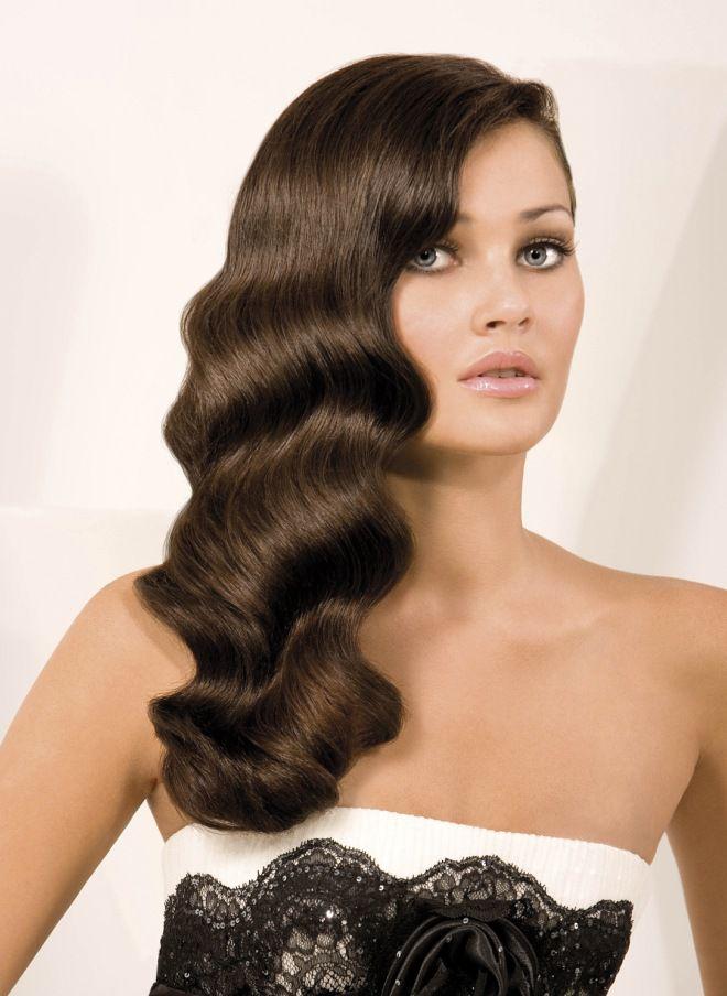 تسريحات الشعر في المساء للشعر الطويل خمسة