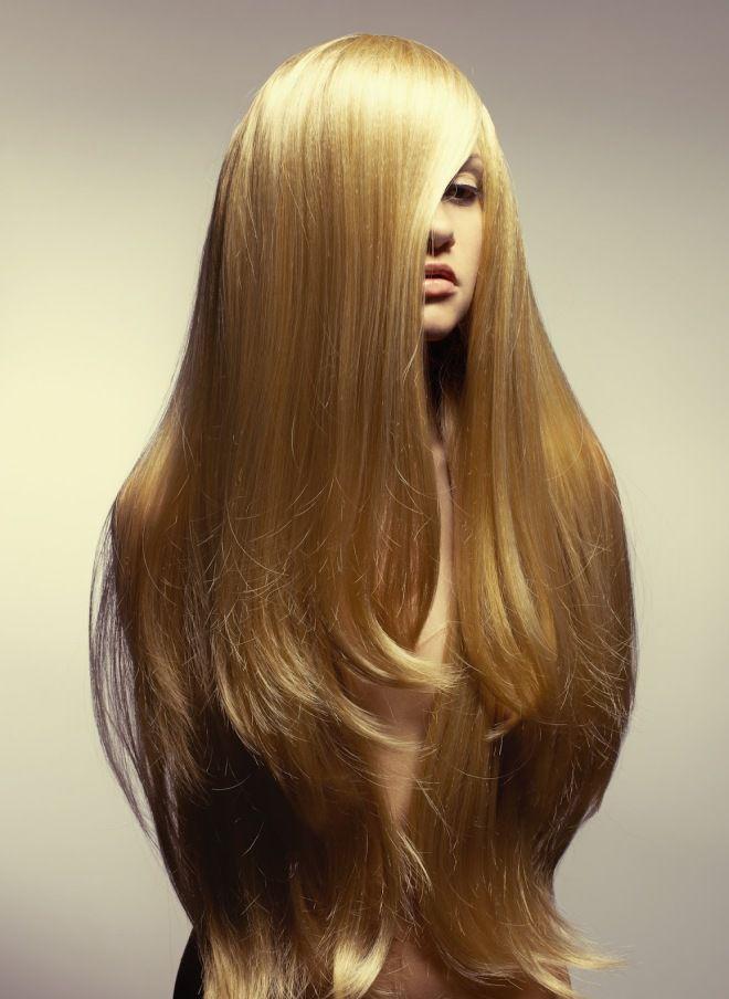 كيفية أسلوب مجفف الشعر الطويل ثلاثة