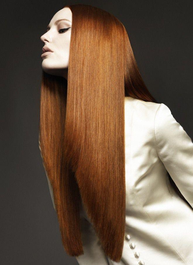 كيف تزين شعرك كيكة طويلة