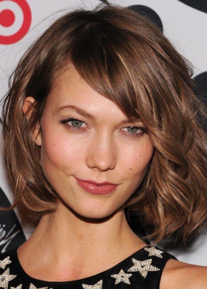 Волосы средней длины укладка феном четыре