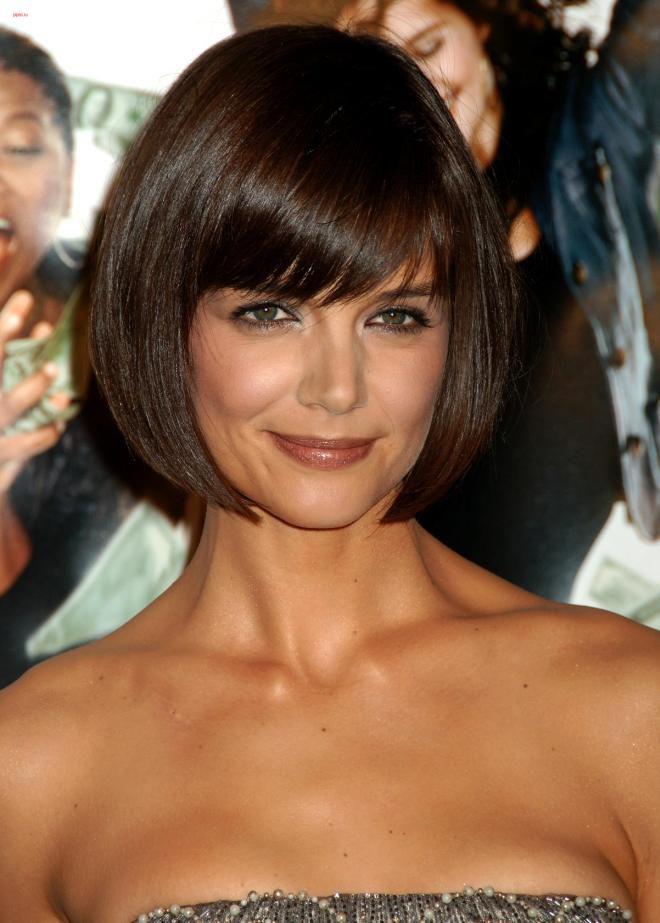 Причёски для прямых волос средней длины раз