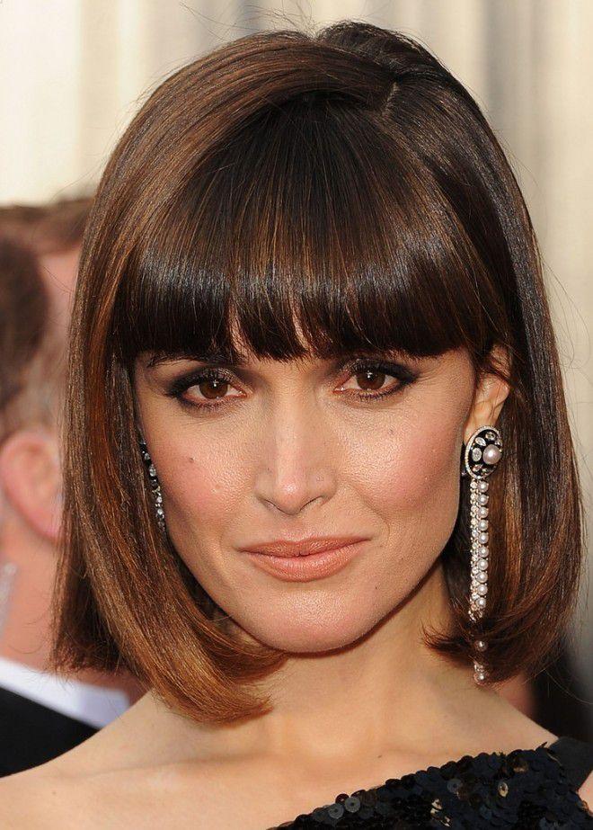Причёски для прямых волос средней длины шесть