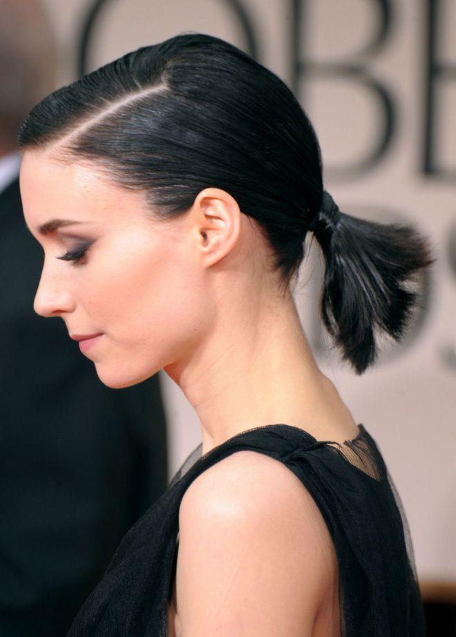 Повседневная укладка волос средней длины три