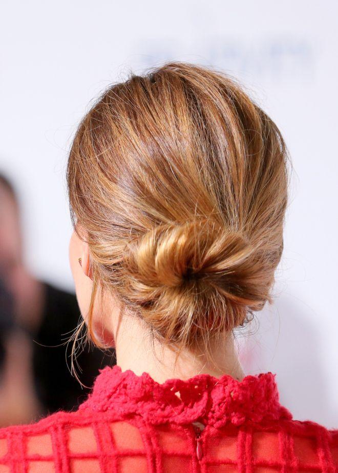 Повседневная укладка волос средней длины шесть