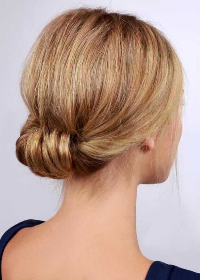 Прически за 5 минут на средние волосы шесть