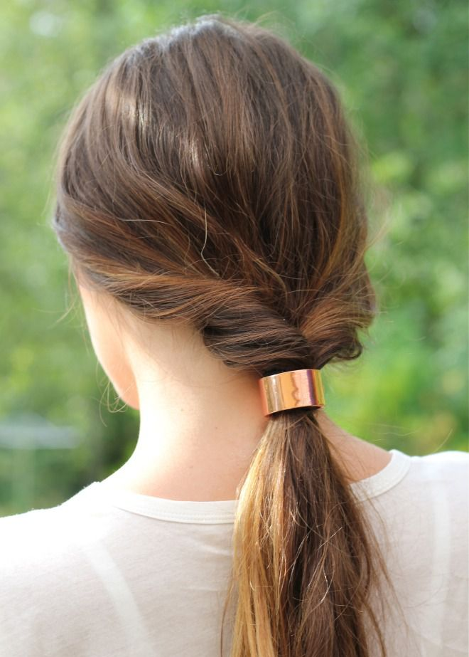 Прически за 5 минут на средние волосы восемь