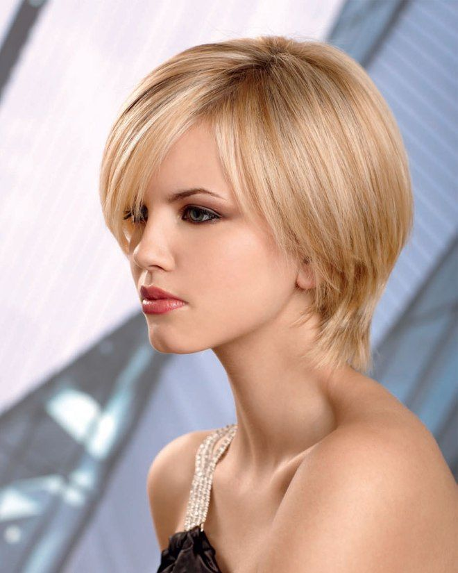 Orta uzunluqdakı gözəl saçlar üçün saç düzümü