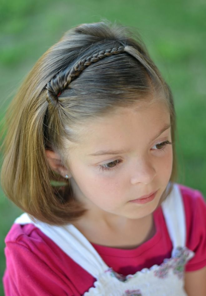 Плетение косичек для девочек пошагово для начинающих